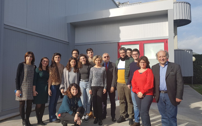 Students of the fourth edition of the Biocirce Master visit Novamont