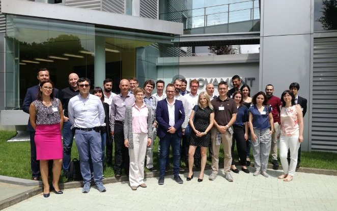 European project Biomotive hosted at the Novamont's Headquarters and Research Centre