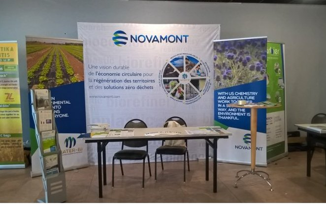 CIPA Congress 2018: Novamont presents its biodegradable mulch film made of Mater-Bi