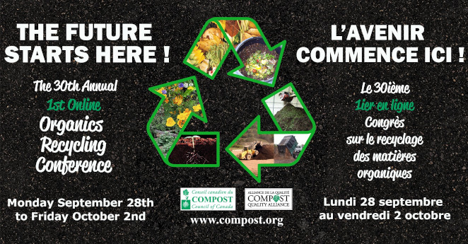 Novamont at the 30th annual Organics Recycling Conference organized by the Compost Council of Canada