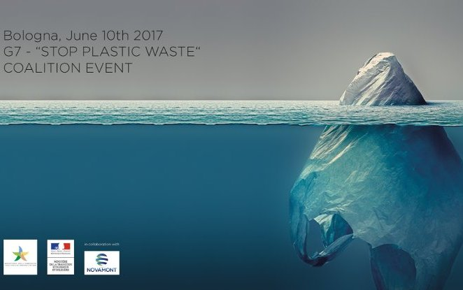 "G7 Environment: Novamont,  the French and Italian Environment Ministries hosted the event ""The International Coalition Stop Plastic Waste- A bioeconomy cultural revolution to save the oceans"""