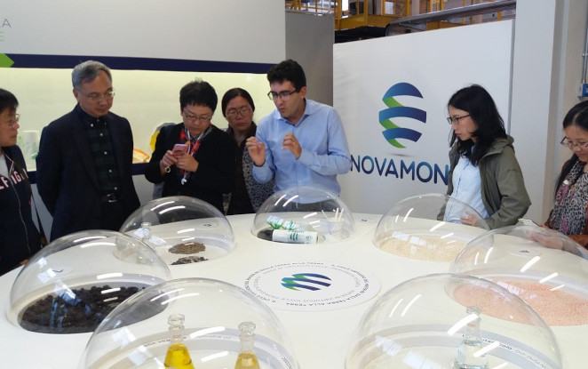 The Novamont Management and Research Center hosts the BBChina project